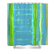 Visual Cadence Xi Shower Curtain