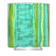 Visual Cadence Xiii Shower Curtain