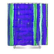 Visual Cadence Xiv Shower Curtain
