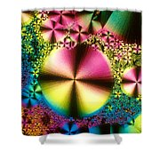 Vitamin B1 Crystal Shower Curtain