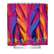 Vitamin E Crystals Shower Curtain