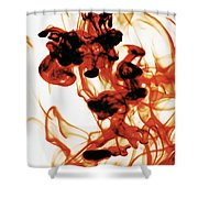Volcanic Eruption Shower Curtain