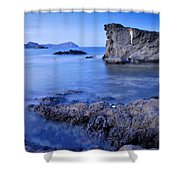 Volcanic Reef Shower Curtain