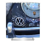 Volkswagen Vw Emblem Shower Curtain