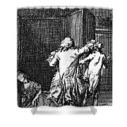 Voltaire: Candide Shower Curtain