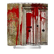 Voodoo Shower Curtain by Christo Christov