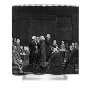 Voting Independence, 1776 Shower Curtain