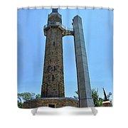 Vulcan Park Statue Birmingham Alabama Usa Shower Curtain