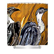 Vulture Shower Curtain