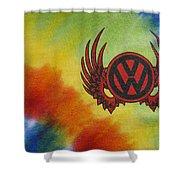 Vw Club Logo Shower Curtain