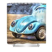Vw Smoke Show Shower Curtain