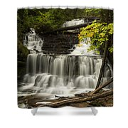 Wagner Falls 3 Shower Curtain