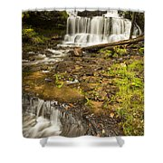 Wagner Falls 4 Shower Curtain