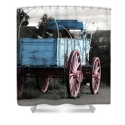 Wagon Ho Shower Curtain