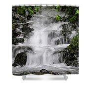 Wahkeena Falls Two Shower Curtain