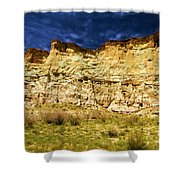Wahweap Cliff Shower Curtain