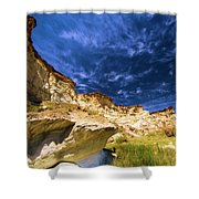 Wahweap Hoodoo Trail Shower Curtain