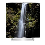 Waikani Waterfall Shower Curtain
