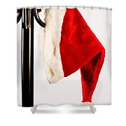 Waiting For Christmas Day Shower Curtain