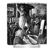 Wales: Rebecca Riots, 1843 Shower Curtain
