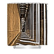 Walhalla Colonnade ... Shower Curtain