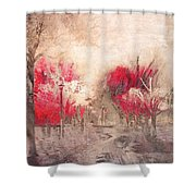 Walk Me Into Yesterday Shower Curtain