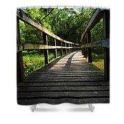 Walk This Way To Nature Shower Curtain