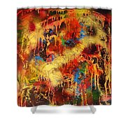 Walk Through The Fire Shower Curtain