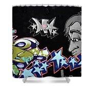 Wall Art 1 Shower Curtain