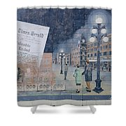 Wall Art Moose Jaw 2 Shower Curtain