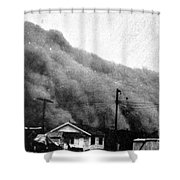 Wall Of Dust, Kansas, 1935 Shower Curtain by Science Source