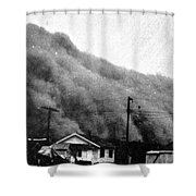 Wall Of Dust, Kansas, 1935 Shower Curtain