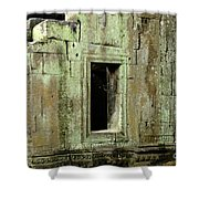 Wall Ta Prohm Shower Curtain by Bob Christopher