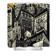 Walls And Towers Shower Curtain