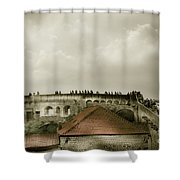 Walls Of Dubrovnik Shower Curtain