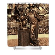Walt And Mickey California Adventure Shower Curtain