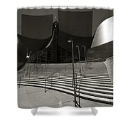 Walt Disney Concert Hall Shower Curtain