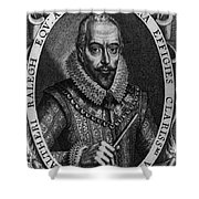 Walter Raleigh, English Courtier Shower Curtain