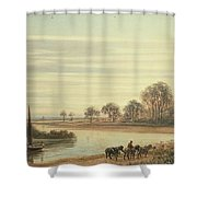 Walton On Thames Shower Curtain