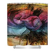 Wandering Star Shower Curtain