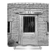 Wanted - Get Out Of Jail  Card  Shower Curtain