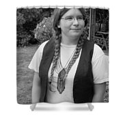 Wanted To Be Janis Joplin Shower Curtain