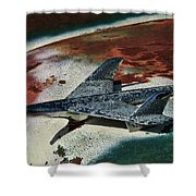 War Bird Shower Curtain