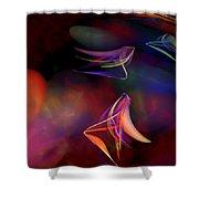 War Dance Shower Curtain