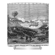 War Of The Pacific, 1879-1884 Shower Curtain