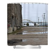 Warehouse And Hoan 1 Shower Curtain