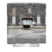 Warehouse Loading Dock Door 3 Shower Curtain