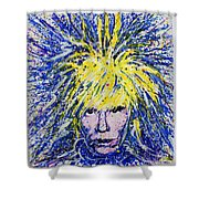 Warhol II Shower Curtain