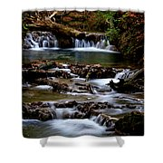 Warm Springs Shower Curtain