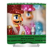 Warmth And Joy Shower Curtain